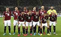 Calcio, Serie A: Torino - Sassuolo, Olympic stadium Grande Torino, August 25, 2019.<br /> Torino's players pose for the pre match photograph prior to the Italian Serie A football match between Torino and Sassuolo at Olympic stadium Grande Torino, August 25, 2019.<br /> UPDATE IMAGES PRESS/Isabella Bonotto