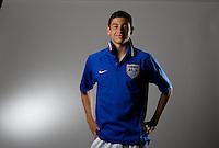 Gabriel Ferrari. U20 men's national team portrait photoshoot before the start of the FIFA U-20 World Cup in Canada. June 22, 2007.
