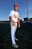 Mar 01, 2010; Jupiter, FL, USA; St. Louis Cardinals pitcher Ben Jukich (65) during  photoday at Roger Dean Stadium. Mandatory Credit: Tomasso De Rosa/ Four Seam Images