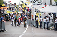 the bunch sprint roll out > sprint won by Dylan Groenewegen (NED/Jumbo-Visma)<br /> <br /> Stage 7: Belfort to Chalon-sur-Saône (230km)<br /> 106th Tour de France 2019 (2.UWT)<br /> <br /> ©kramon