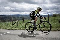 eventual race winner Annemiek Van Vleuten (NED/Mitchelton Scott) up the Côte de La Redoute.<br /> <br />  3th Liège-Bastogne-Liège-Femmes 2019 (1.WWT)<br /> 1 Day Race: Bastogne – Liège 138,5km<br /> <br /> ©kramon