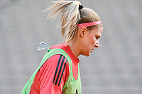 Justine Vanhaevermaet (10) of Belgium pictured during a Womens International Friendly game between Belgium , called the Red Flames and Norway at Koning Boudewijnstadion in Brussels , Belgium. Photo Sportpix.be / SPP
