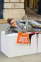 SEP 17 PETA targets exotic skins at London Fashion Week