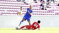 Orlando, Florida - Monday January 15, 2018: Brandon Bye. Match Day 2 of the 2018 adidas MLS Player Combine was held Orlando City Stadium.