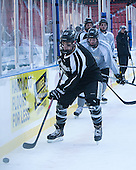 Brandon Tanev (PC - 22), Conor MacPhee (PC - 29) -  - The participating teams in Hockey East's first doubleheader during Frozen Fenway practiced on January 3, 2014 at Fenway Park in Boston, Massachusetts.
