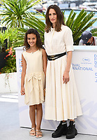 CANNES, FRANCE. July 9, 2021: Lilou Siauvaud & Camille Cottin at the Stillwater photocall at the 74th Festival de Cannes.<br /> Picture: Paul Smith / Featureflash