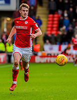 Leeds United's defender Liam Cooper (6) during the Sky Bet Championship match between Barnsley and Leeds United at Oakwell, Barnsley, England on 25 November 2017. Photo by Stephen Buckley / PRiME Media Images.