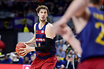 FC Barcelona Lassa's Ante Tomic during Liga Endesa match between Real Madrid and FC Barcelona Lassa at Wizink Center in Madrid, Spain. March 12, 2017. (ALTERPHOTOS/BorjaB.Hojas)