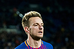 Ivan Rakitic of FC Barcelona reacts during the Copa Del Rey 2017-18 Round of 16 (2nd leg) match between FC Barcelona and RC Celta de Vigo at Camp Nou on 11 January 2018 in Barcelona, Spain. Photo by Vicens Gimenez / Power Sport Images