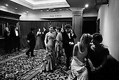 WASHINGTON DC - JANUARY 19: People attend the Boots and Black Tie Ball the night before the inauguration at the Marriott Hotel January 19, 2005 in Washington, DC. U.S President George W. Bush was inaugurated for a second term on January 20. (Photo by Anthony Suau/Getty Images)