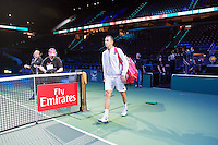 Rotterdam, The Netherlands, Februari 8, 2016,  ABNAMROWTT, Lukas Rosol (CZE), Fly Emirates<br /> Photo: Tennisimages/Henk Koster