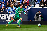 Martin Braithwaite of CD Leganes and Nacho Monreal of Real Sociedad