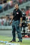V.Sundram Moorthy Singapore head coach during the International Test match between Argentina and Singapore at National Stadium on June 13, 2017 in Singapore. Photo by Marcio Rodrigo Machado / Power Sport Images