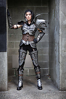 Diablo Demon Hunter Girl Cosplay by Hallie Lubahn, Pax West Seattle, WA, USA.