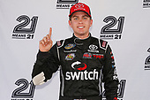 NASCAR Camping World Truck Series<br /> M&M's 200 presented by Casey's General Store<br /> Iowa Speedway, Newton, IA USA<br /> Friday 23 June 2017<br /> Noah Gragson, Switch Toyota Tundra wins the pole<br /> World Copyright: Brett Moist<br /> LAT Images