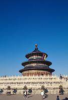 China, Peking, Himmelstempel, Halle des Ernteopfers, Unesco-Weltkuturerbe