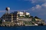 Alcatraz Island in san Francisco Bay, correctional facility, San Francisco, California USA