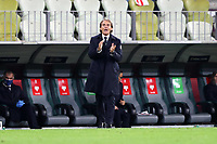 GDANSK 11.10.2020 MECZ 3. KOLEJKA LIGA NARODOW GRUPA A1 SEZON 2020/21: POLSKA - WLOCHY 0:0 --- 2020-21 UEFA NATIONS LEAGUE GROUP A1 FOOTBALL MATCH: POLAND - ITALY 0:0 ROBERTO MANCINI FOT. PIOTR KUCZA/FOTOPYK / NEWSPIX.PL --- Newspix.pl PUBLICATIONxNOTxINxPOL 201011PYK0080 <br /> Danzica Nations League Gruppo A Polonia Italia Football - UEFA Nations League group A match Poland - Italy <br /> ITALY ONLY