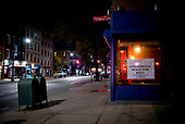 April 18, 2020<br /> Brooklyn, New York<br /> Park Slope<br /> <br /> The going out of businesses on 5th Avenue in Brooklyn during the time of the cononavirus pandemic.