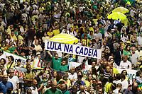 03.04.2018 - Protesto contra Lula na Avenida Paulista em SP