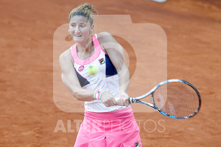 Irina-Camelia Begu, Romania, during Madrid Open Tennis 2015 match.May, 7, 2015.(ALTERPHOTOS/Acero)
