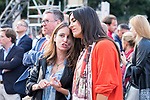 Sport Council of Madrid Andrea Levy (l) and vice mayor of Madrid Begona Villacis during the last Stage of La Vuelta 2019 . September 15, 2019. (ALTERPHOTOS/Francis Gonzalez)