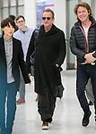 Chiba, Japan - British singer-songwriter Sting (Gordon Matthew Thomas Sumner) (C) arrives at Narita International Airport in Chiba, Japan on November 27, 2016. Sting is in Japan to promote his twelfth solo studio album 57th & 9th. (Photo by AFLO)