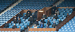 13.02.2021 Rangers v Kilmarnock: Tommy Wright watching the early part of thr game from the directors box