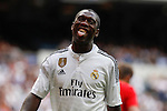 Real Madrid´s Seedorf reacts during 2015 Corazon Classic Match between Real Madrid Leyendas and Liverpool Legends at Santiago Bernabeu stadium in Madrid, Spain. June 14, 2015. (ALTERPHOTOS/Victor Blanco)
