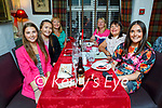 Margaret Cahill from Castleisland celebrating her birthday in Cassidy's on Friday, l to r: Marlyn Cahill, Kate and Christina Buckley, Mary Maher, Margaret and Claire Cahill.