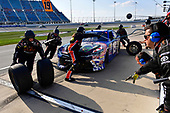 NASCAR XFINITY Series<br /> TheHouse.com 300<br /> Chicagoland Speedway, Joliet, IL USA<br /> Saturday 16 September 2017<br /> Matt Tifft, TMNT Lone Rat & Cub/ABTA Toyota Camry makes a pit stop<br /> World Copyright: Logan Whitton<br /> LAT Images