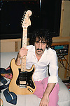 FRANK ZAPPA 1982 at home in LA