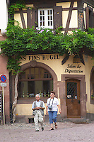 hugel wine shop riquewihr alsace france