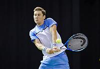 Rotterdam, The Netherlands, 12 Februari 2019, ABNAMRO World Tennis Tournament, Ahoy, first round singles: Matthew Ebden (AUS),<br /> Photo: www.tennisimages.com/Henk Koster