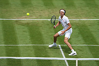 1st July 2021; Wimbledon, SW London. England; Wimbledon Tennis Championships, day 4;  Alexander Zverev , Germany