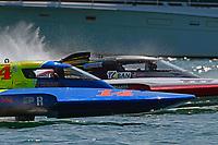 "Donny Allen, H-14 ""Legacy 1"", Kent Henderson, H-777 ""Snyder's Steeler Team Toban""        (H350 Hydro)"