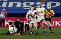 2nd January 2021   Ulster vs Munster <br /> <br /> Nathan Doak during the PRO14 Round 10 clash between Ulster Rugby and Munster Rugby at the Kingspan Stadium, Ravenhill Park, Belfast, Northern Ireland. Photo by John Dickson/Dicksondigital