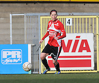 1/2 Halve finale Beker van Belgie ; Waasland Beveren Sinaai Girls - Standard Femina de Liege : Berit Stevens..foto DAVID CATRY / Vrouwenteam.be