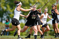 20 June 2006: Polly Brown during Stanford's 17-9 loss to Northwestern in the first round of the 2006 NCAA Lacrosse Championships in Evanston, IL. Stanford made it to the NCAA's for the first time in school history.