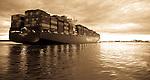 Southampton Docks At Sunset