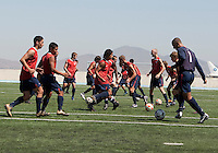 U17 Men's National Team training before the 2009 CONCACAF Under-17 Championship From April 21-May 2 in Tijuana, Mexico
