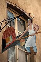 Europe/France/Rhône-Alpes/69/Rhône/Lyon: Enseigne d'un boulanger rue Saint-Jean