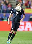 FC Bayern Munchen's Javi Martinez during Champions League 2015/2016 Semi-Finals 1st leg match. April 27,2016. (ALTERPHOTOS/Acero)