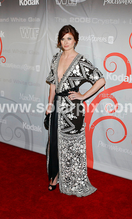 **ALL ROUND PICTURES FROM SOLARPIX.COM**.**SYNDICATION RIGHTS FOR UK, SPAIN, PORTUGAL, AUSTRALIA, S.AFRICA & DUBAI (U.A.E) ONLY**.arrivals for the 2008 Women In Film Crystal + Lucy Awards held at the Beverly Hilton Hotel, Beverly Hills, CA, USA. 17th June 2008..This pic: Debra Messing.JOB REF: 6696 PHZ /GL    DATE: 17_06_2008.**MUST CREDIT SOLARPIX.COM OR DOUBLE FEE WILL BE CHARGED* *UNDER NO CIRCUMSTANCES IS THIS IMAGE TO BE REPRODUCED FOR ANY ONLINE EDITION WITHOUT PRIOR PERMISSION*