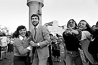 - folk feast in Chioggia, dancing in the square  (May 1978)....- festa popolare a Chioggia, ballo in piazza (maggio 1978)