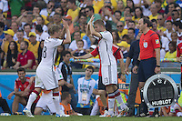 Toni Kroos of Germany is replaced by Christoph Kramer