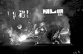 Sverdlovsk, Russia.1992.A post-communist steel factory.