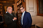 """ANGELO SANZA E PAOLO MESSA<br /> CONVEGNO """"THINKING DEMOCRACY NOW"""" DELLA FONDAZIONE FELTRINELLI <br /> CENTRO STUDI AMERICANI ROMA 2020"""