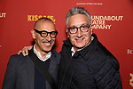 """Moises Kaufman and guest attends the Broadway Opening Night After Party for """"Kiss Me, Kate""""  at Studio 54 on March 14, 2019 in New York City."""