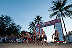 Competitors in action during the Challenge on 01 December 2013 in Phuket, Thailand. Photo by Xaume Olleros